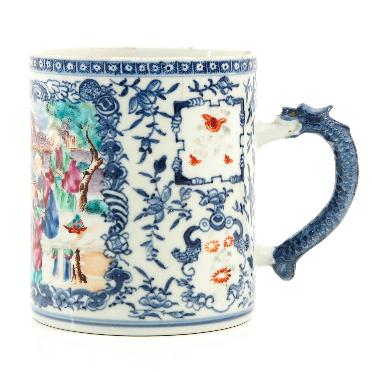 A Polychrome Decor Mug