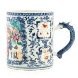 A Polychrome Decor Mug