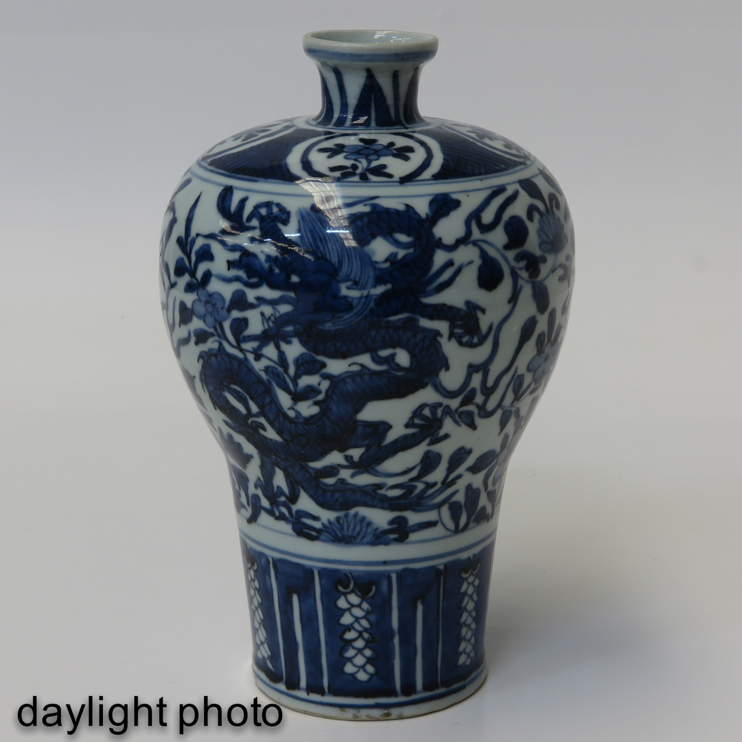 A Blue and White Meiping Vase - Image 7 of 10