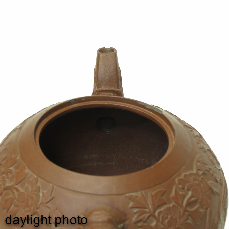 A Yixing Teapot - Image 9 of 10