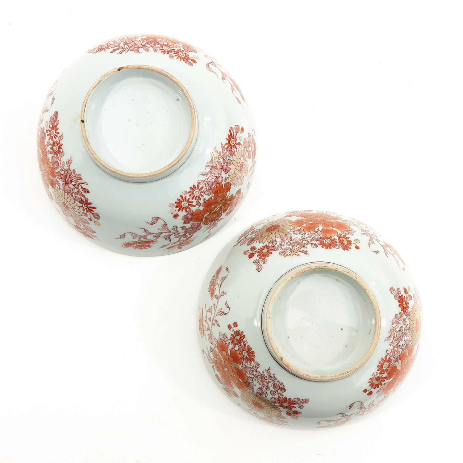 A Pair of Milk and Blood Decor Bowls - Image 6 of 9