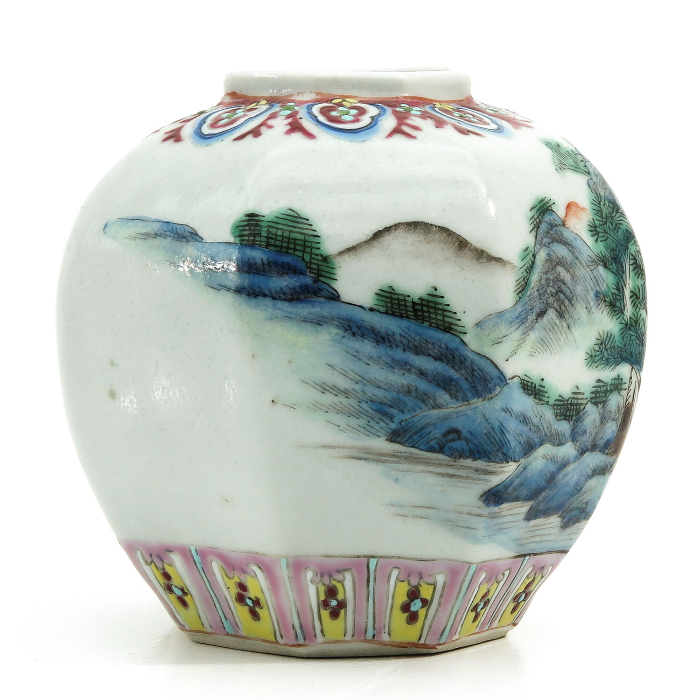 A Polychrome Vase - Image 4 of 9