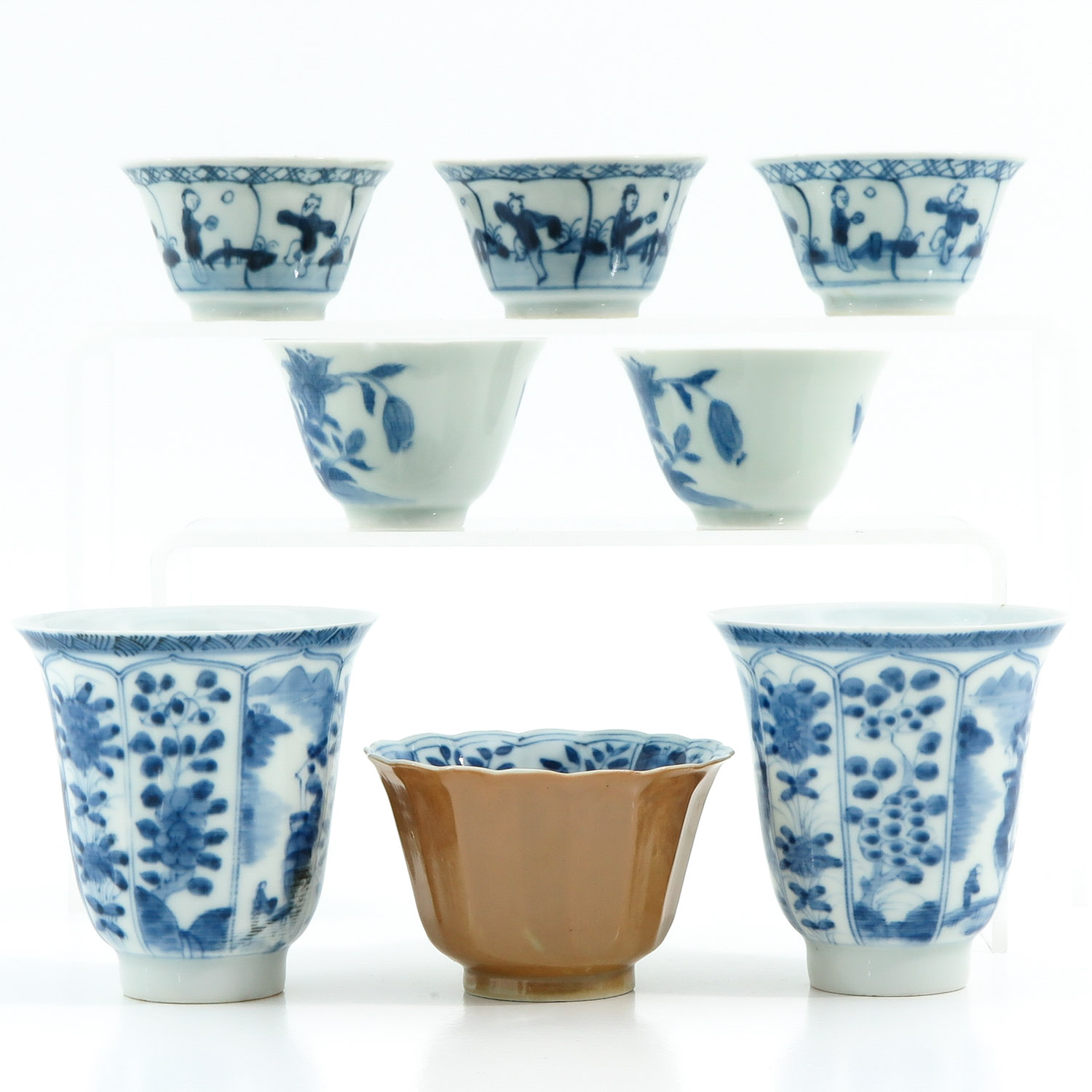 A Diverse Collection of Cups and Saucers - Image 2 of 10