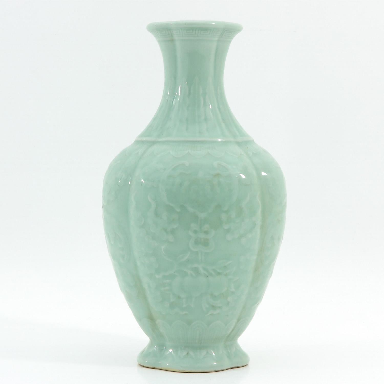 A Celadon Vase - Image 3 of 9