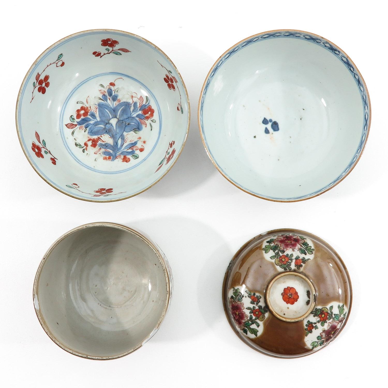 A Batavianware Jar and 2 Bowls - Image 5 of 9