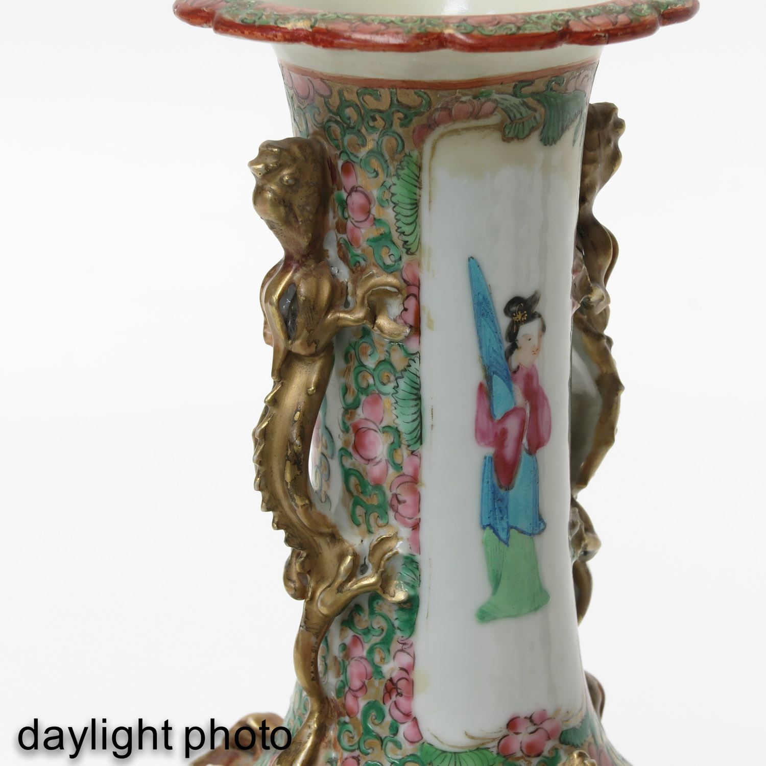 A Collection of Cantonese Porcelain - Image 10 of 10