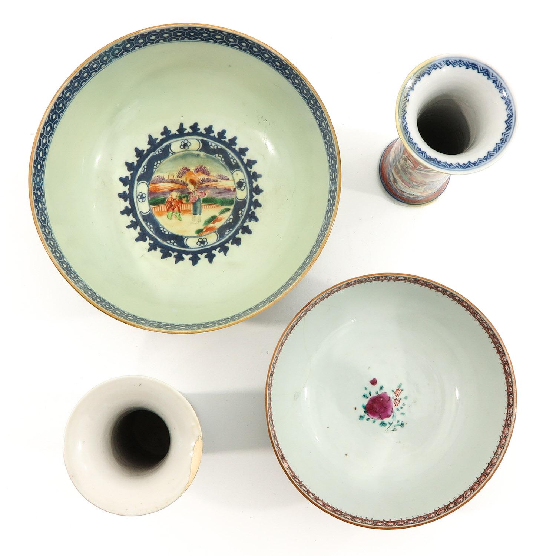 A Lot of 2 Mandarin Decor Bowls - Image 5 of 10