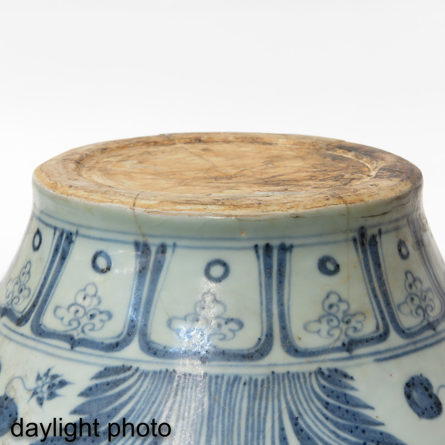 A Blue and White Jar - Image 8 of 9