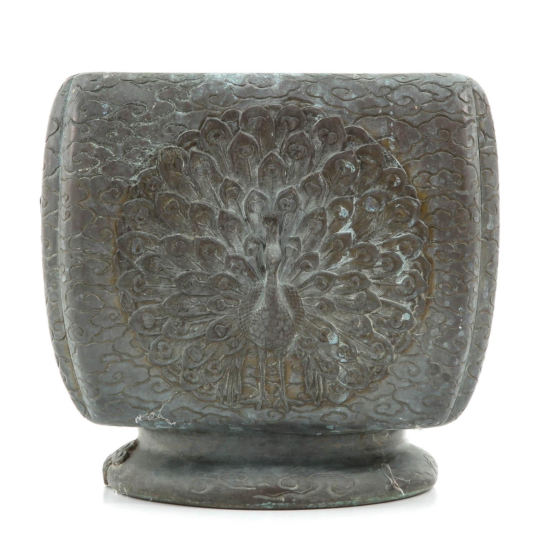 A Bronze Vase - Image 2 of 10