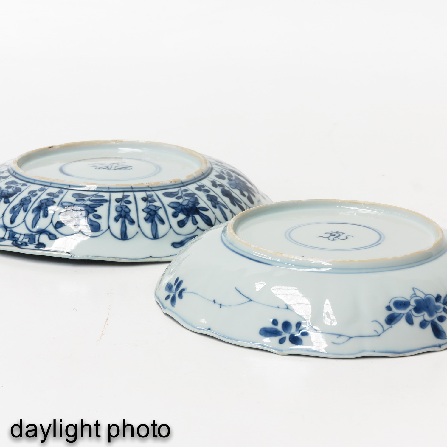 2 Blue and White Plates - Image 8 of 10