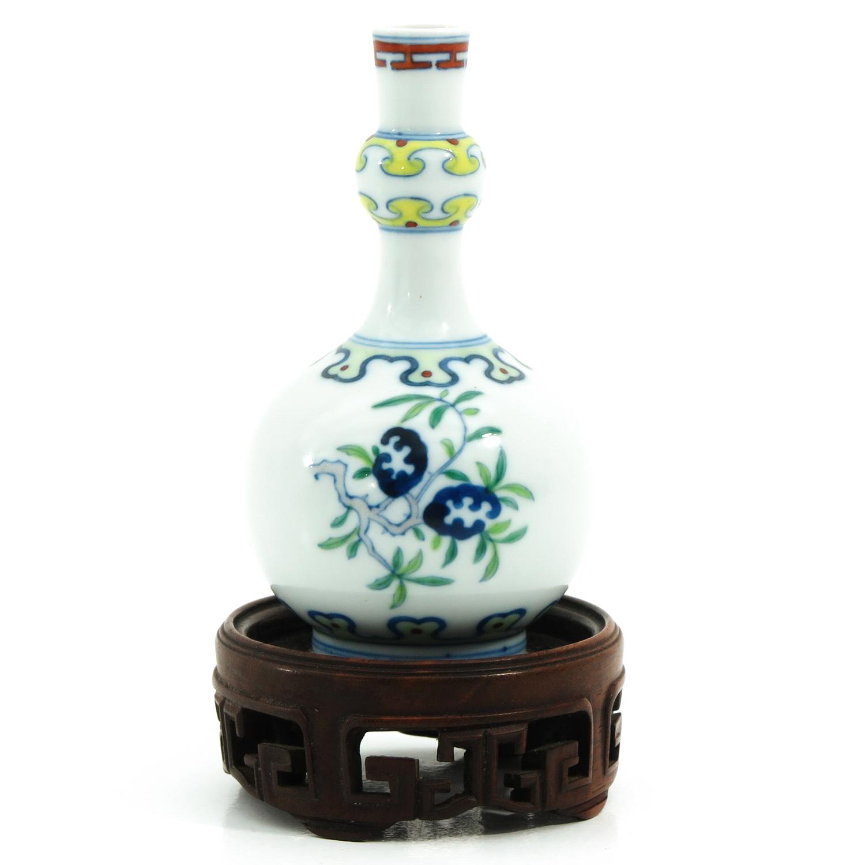 A Small Doucai Decor Vase