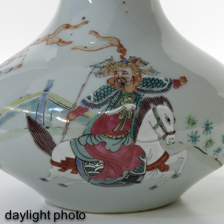 A Famille Rose Vase - Image 10 of 10