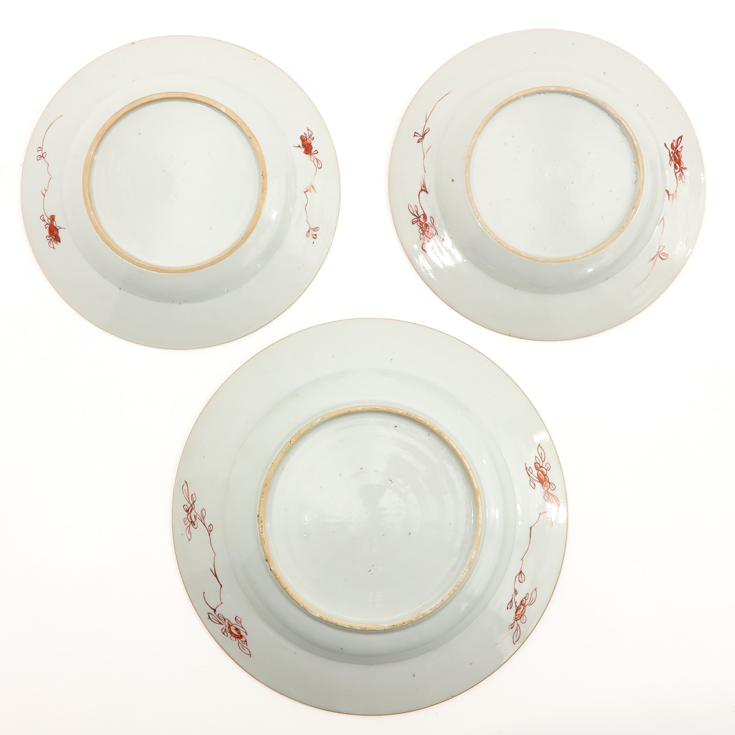 A Collection of 6 Polychrome Decor Plates - Image 4 of 9