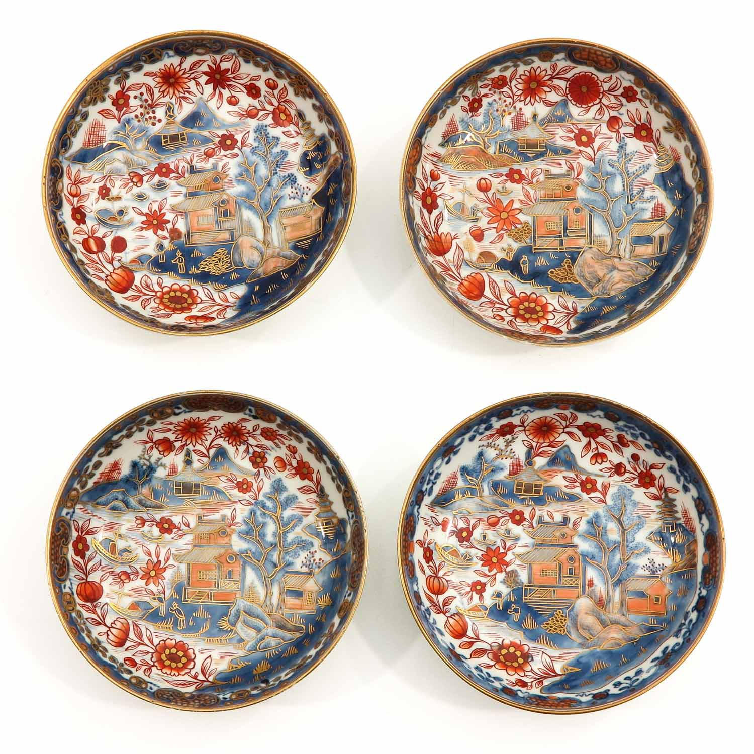 4 Imari Cups and Saucers - Image 7 of 10