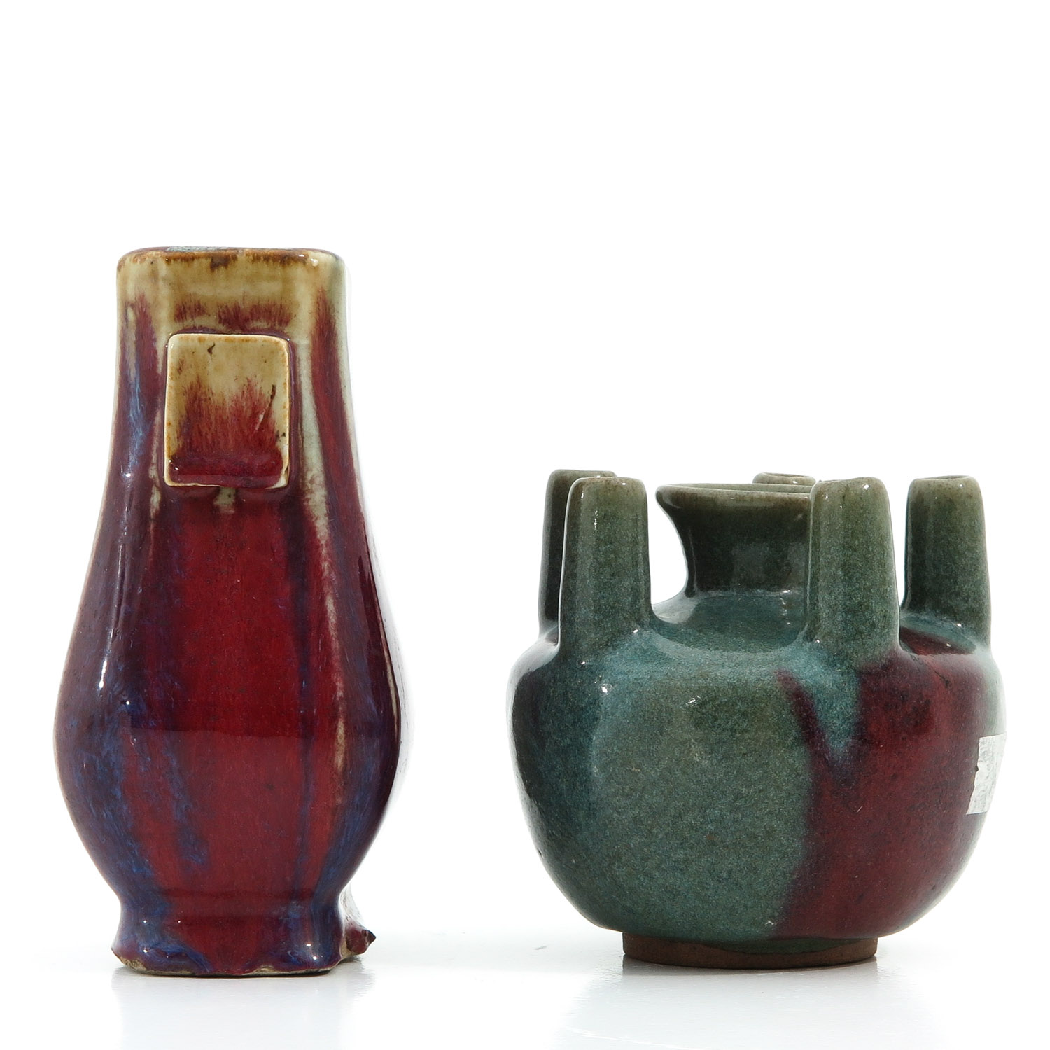 2 Chinese Vases - Image 2 of 10