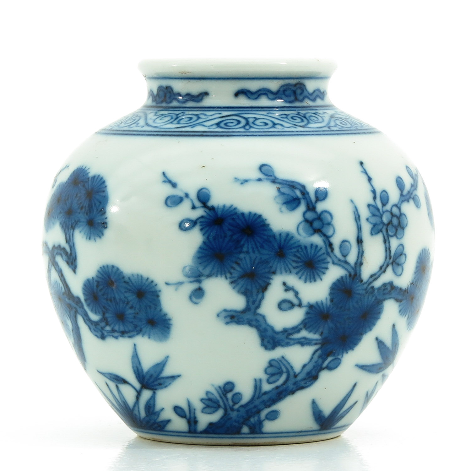 A Small Blue and White Vase - Image 2 of 9