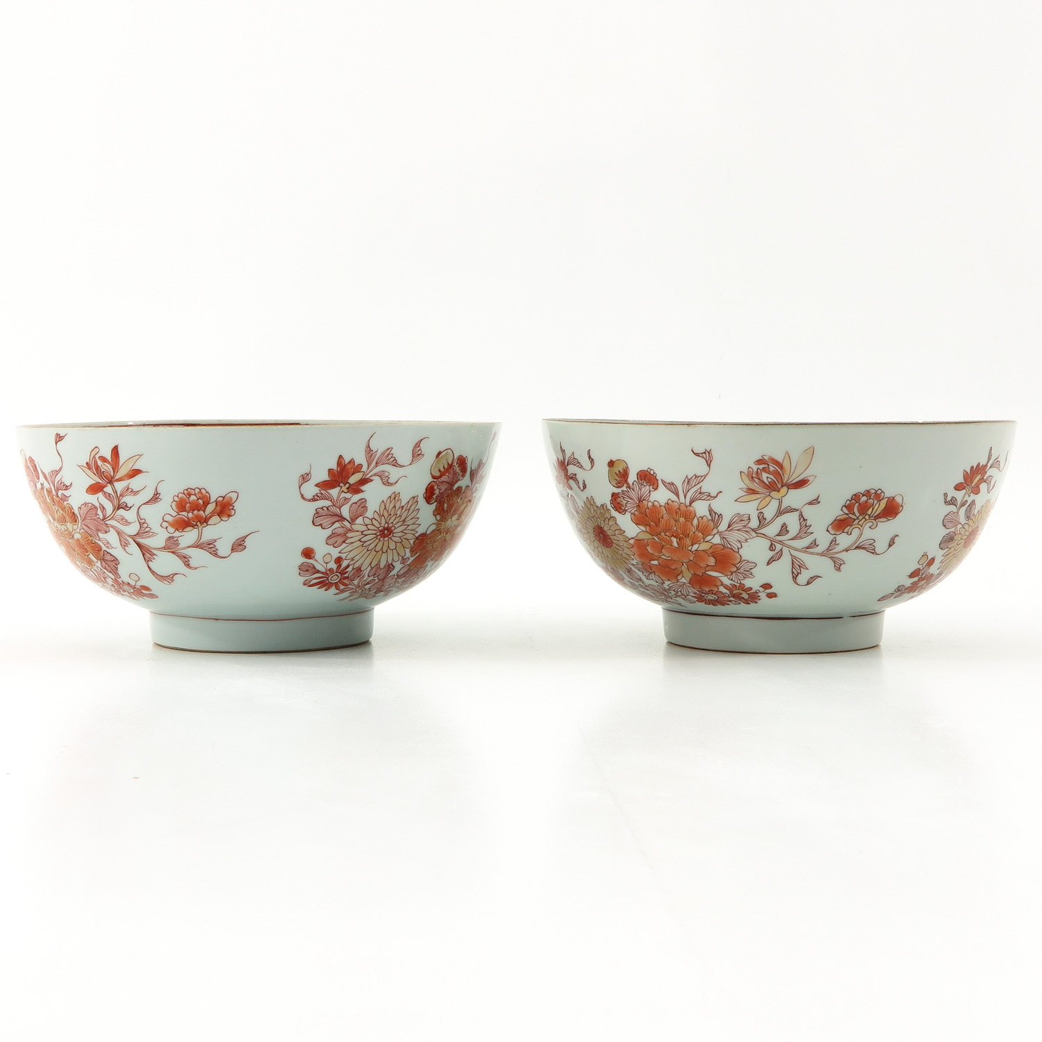 A Pair of Milk and Blood Decor Bowls - Image 3 of 9