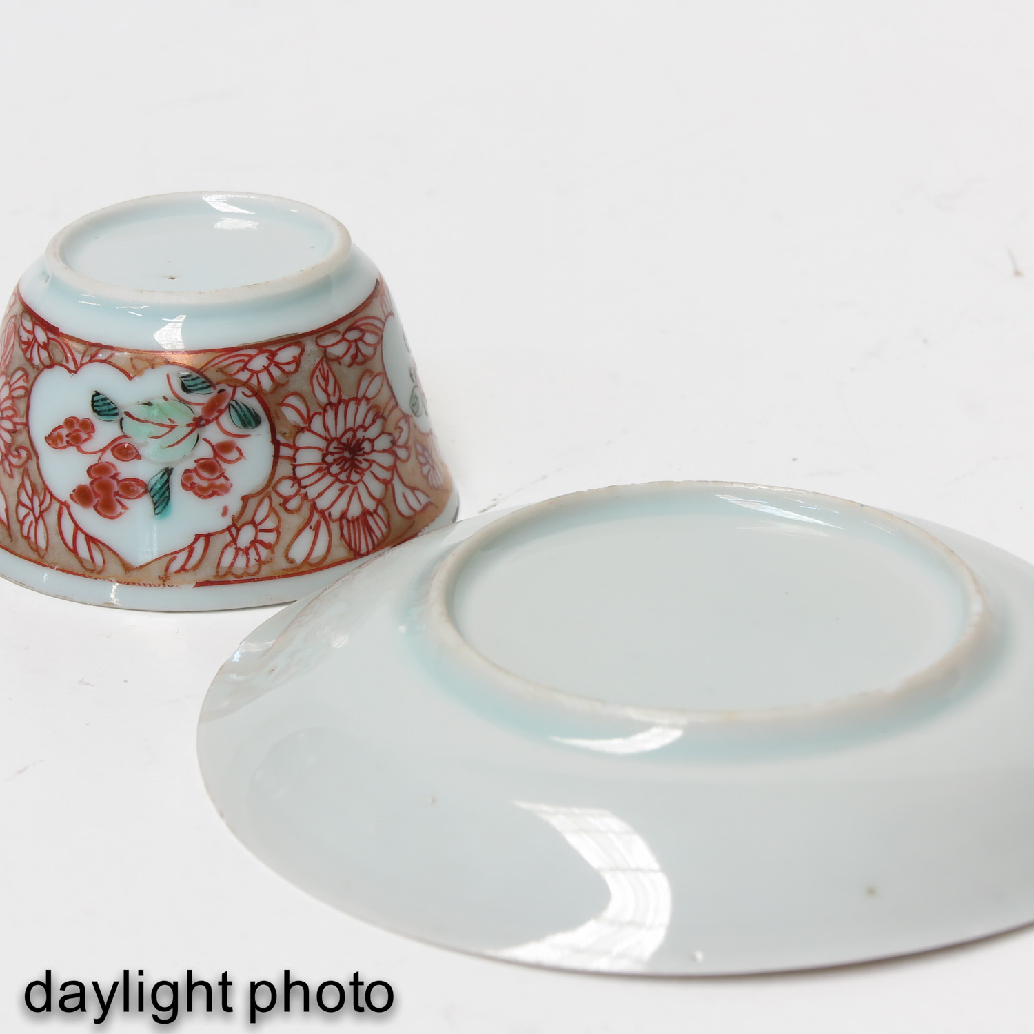 A Set of 2 Cups and Saucers - Image 10 of 10