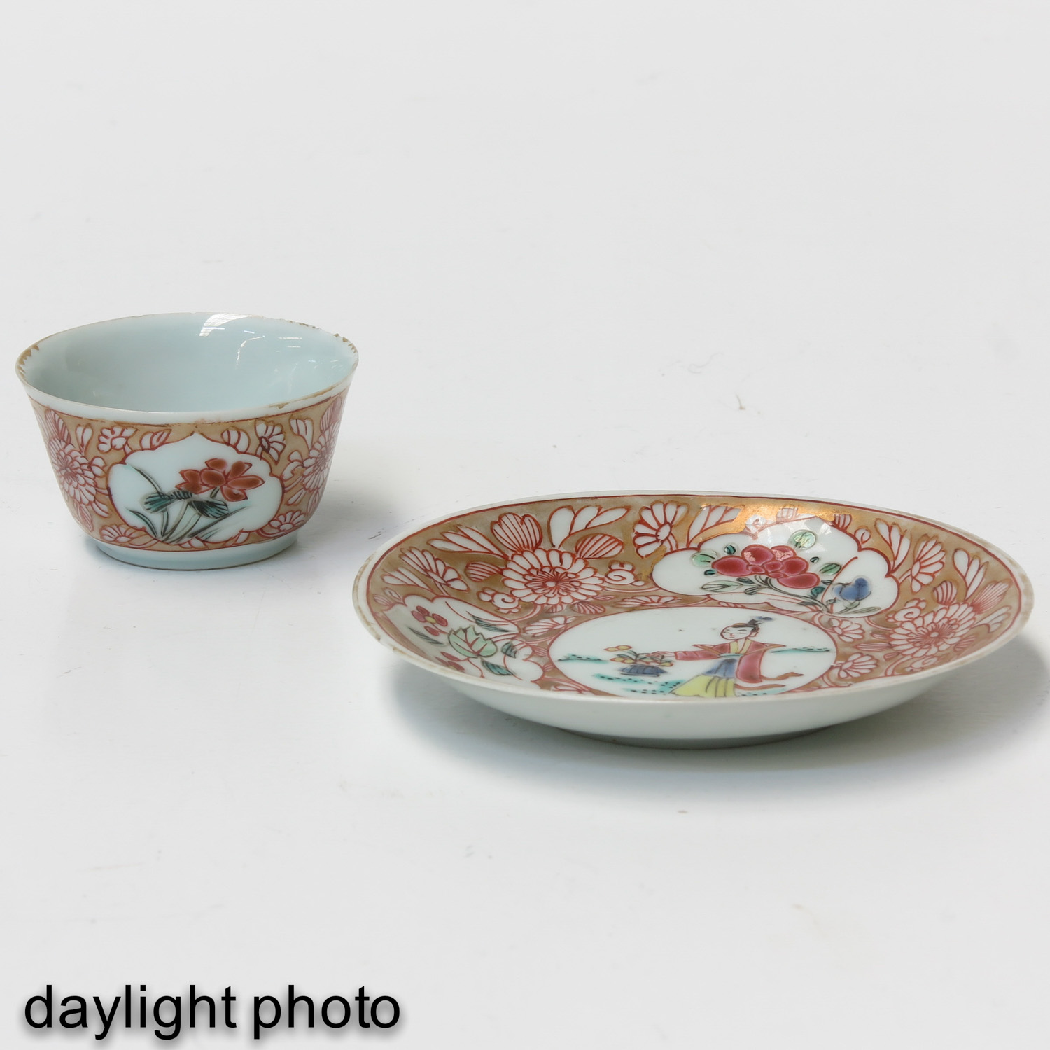 A Set of 2 Cups and Saucers - Image 9 of 10