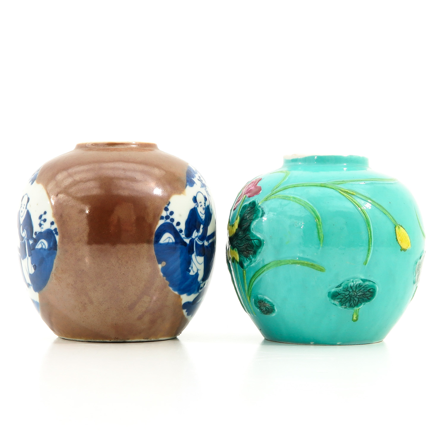 A Lot of 2 Ginger Jars - Image 2 of 10