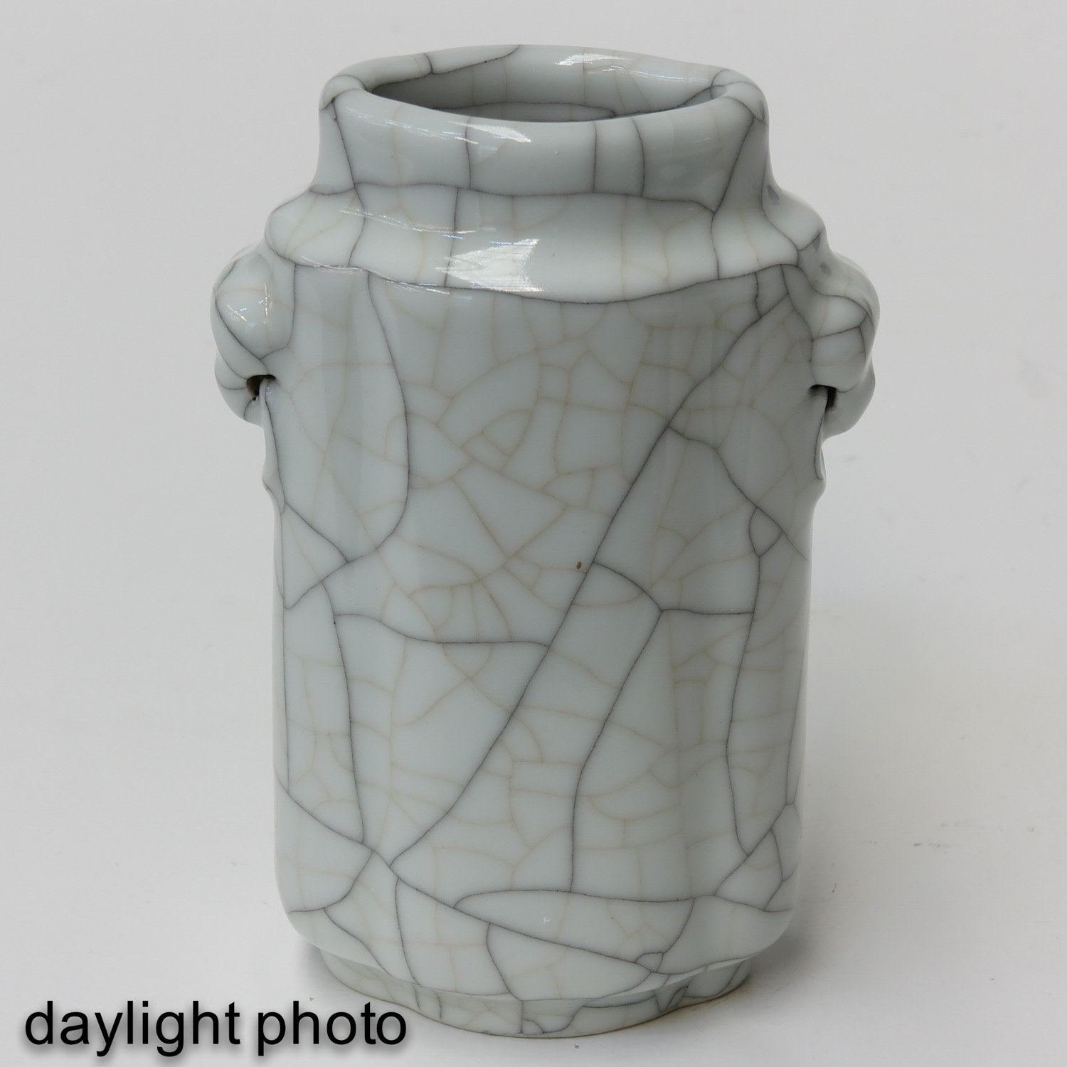 A Crackle Decor Vase - Image 7 of 9