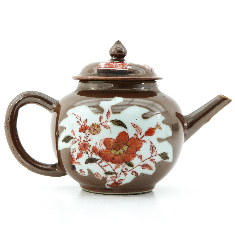 A Batavianware Teapot - Image 3 of 9