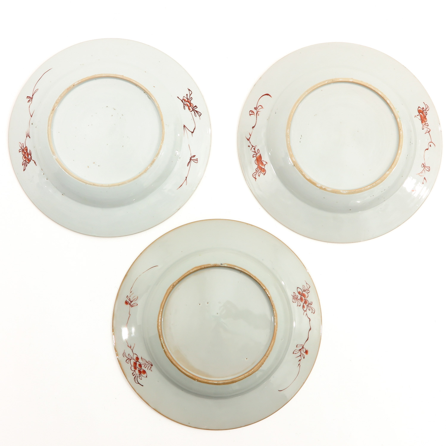 A Collection of 6 Polychrome Decor Plates - Image 6 of 9