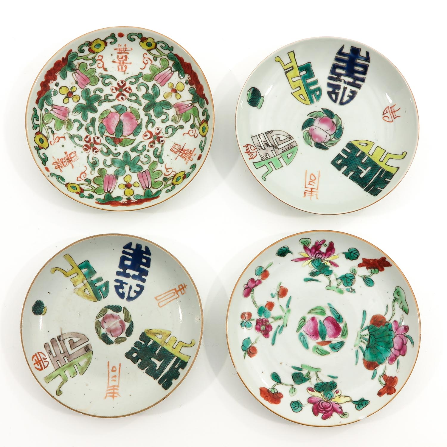 A Collection of 10 Polychrome Decor Plates - Image 3 of 10