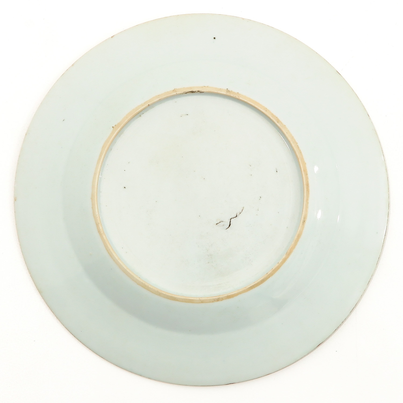 A Lot of 3 Polychrome Decor Plates - Image 4 of 10