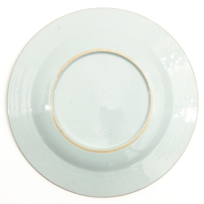 A Lot of 3 Polychrome Decor Plates - Image 8 of 10
