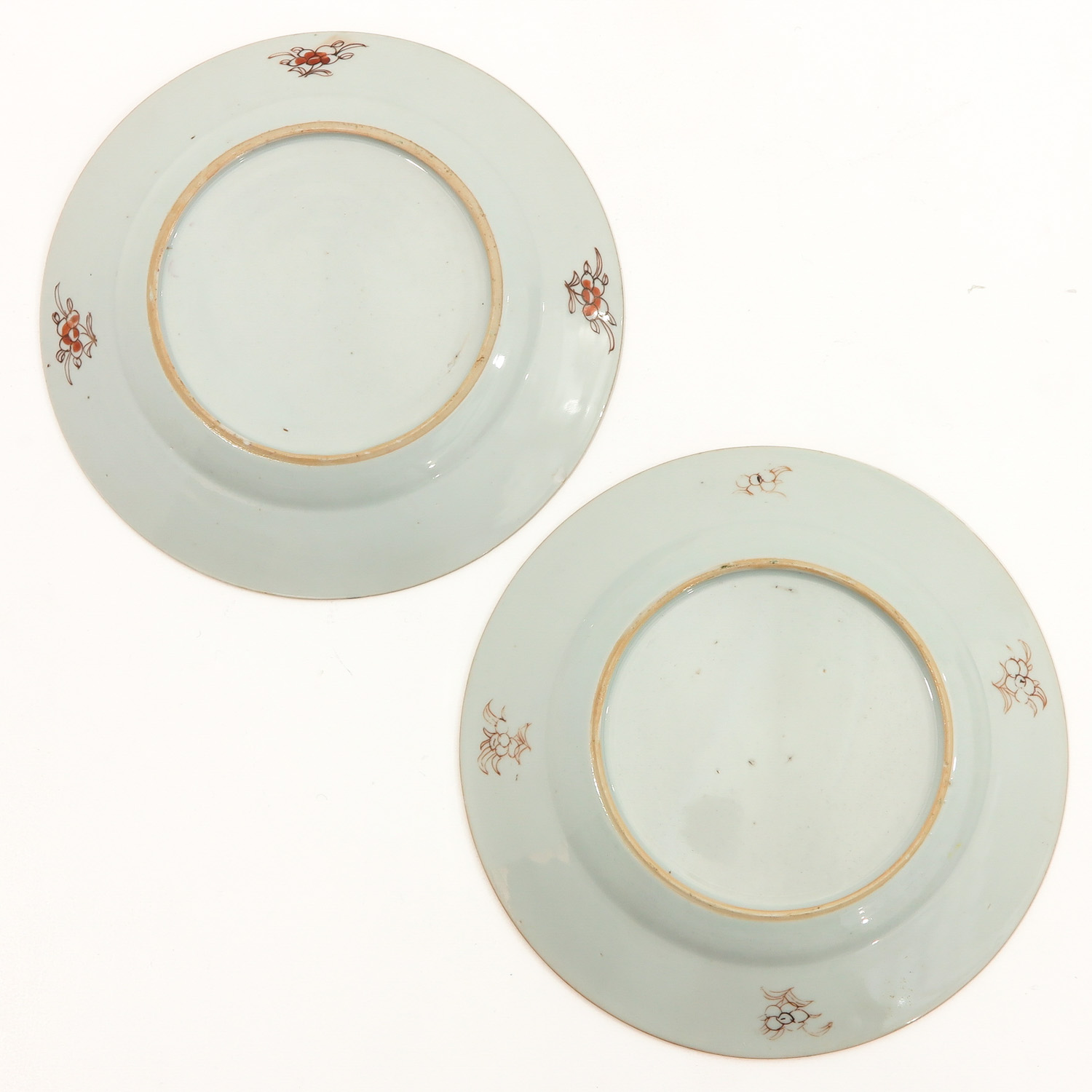 A Series of 4 Famille Rose Plates - Image 4 of 9