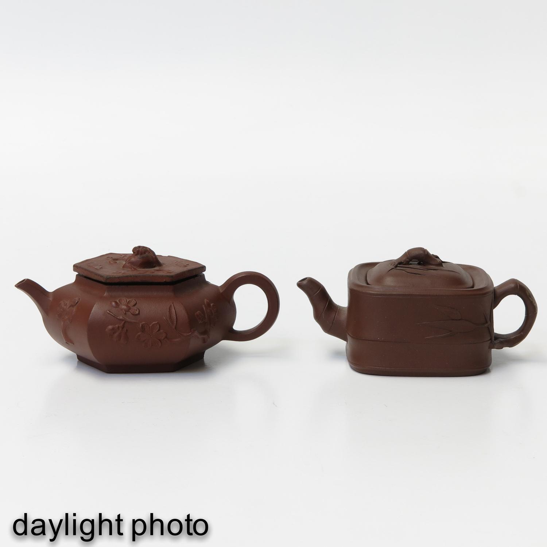 2 Yixing Teapots - Image 7 of 10