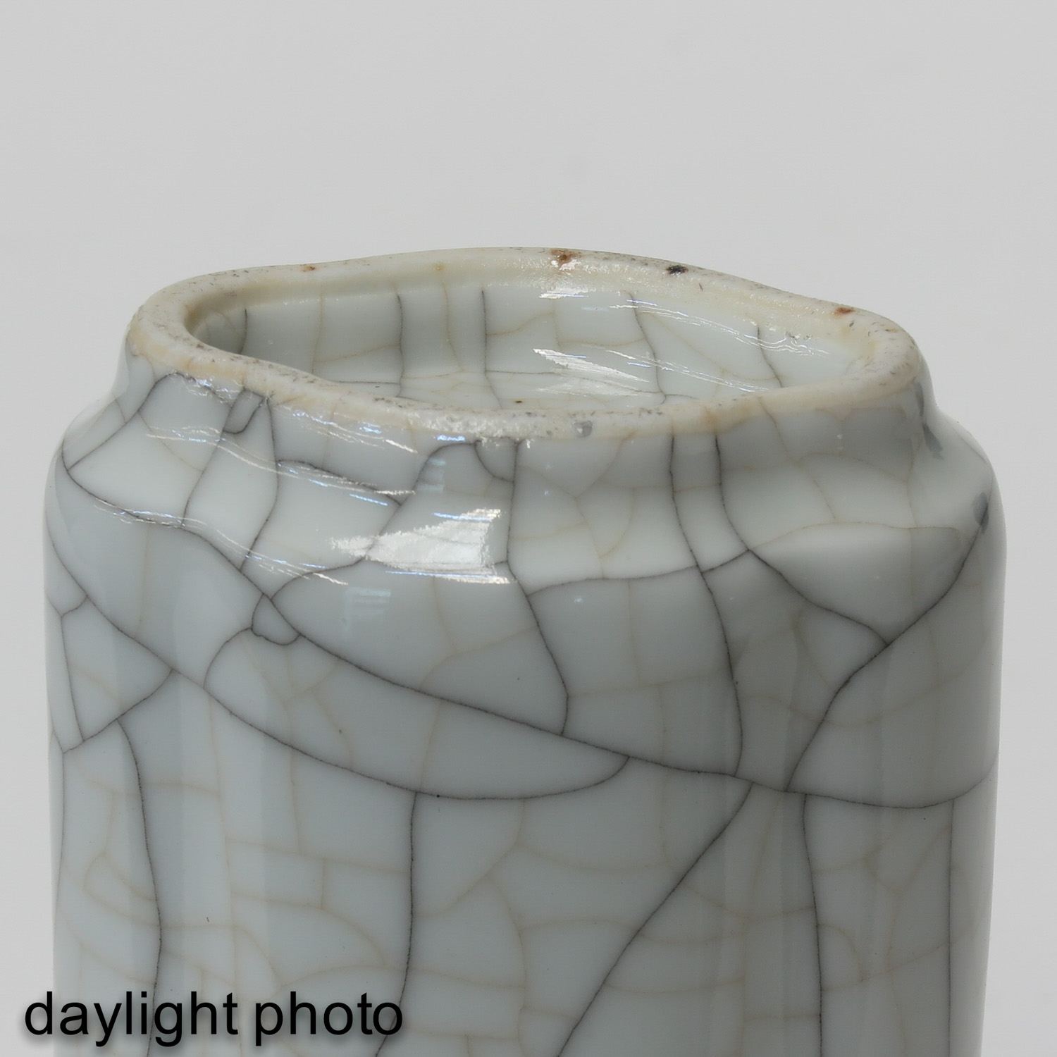 A Crackle Decor Vase - Image 8 of 9