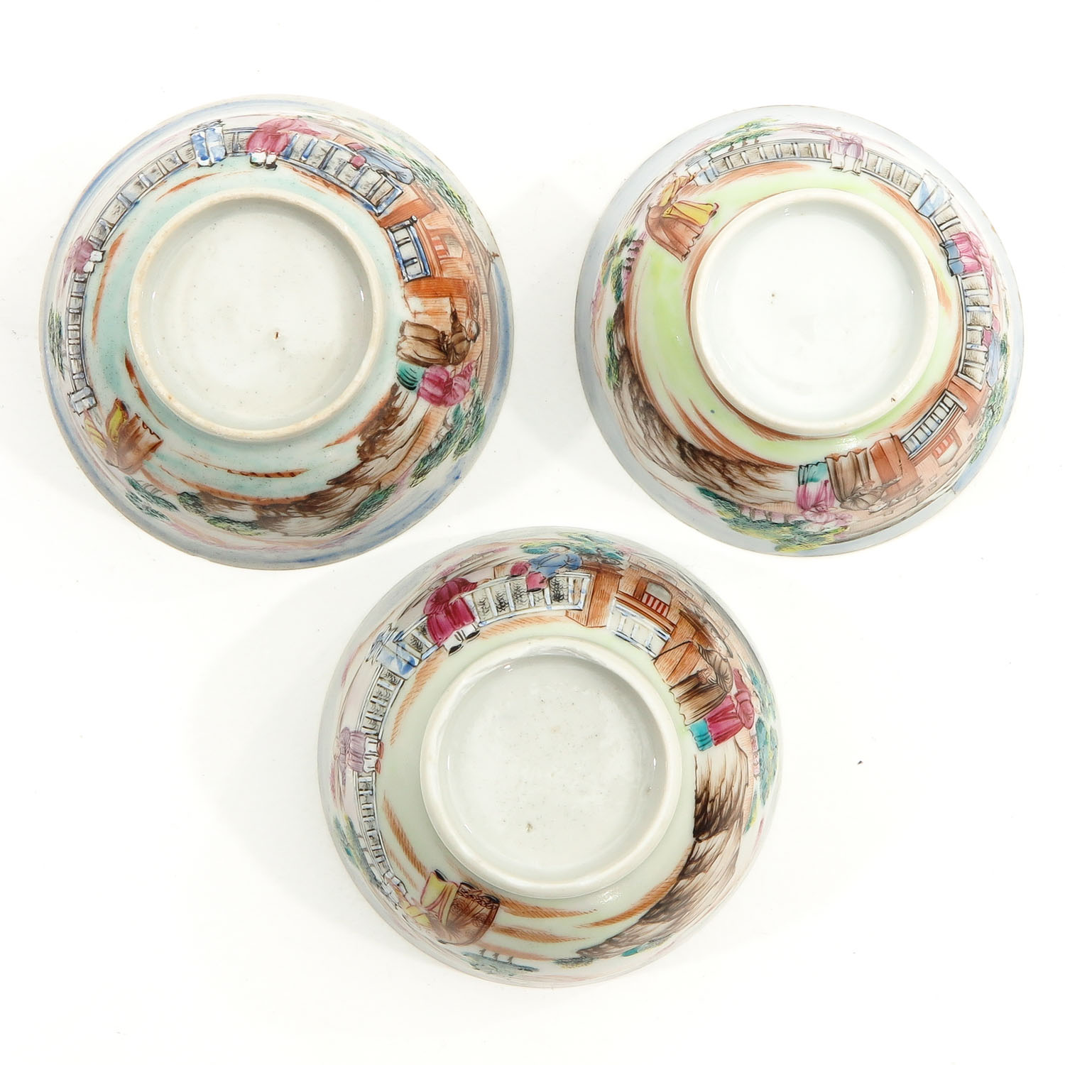 A Series of 3 Cups and Saucers - Image 6 of 10