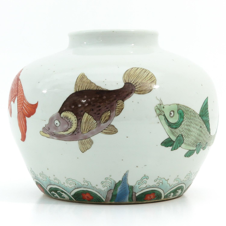 A Polychrome Jar - Image 2 of 9