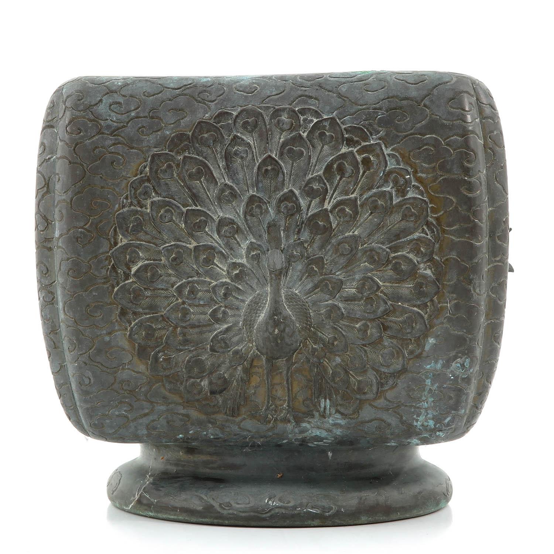 A Bronze Vase - Image 3 of 10