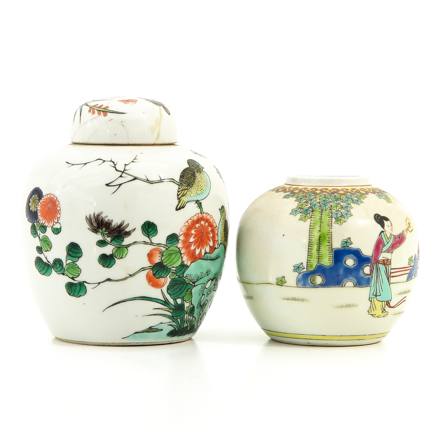 A Lot of 2 Ginger Jars - Image 4 of 9