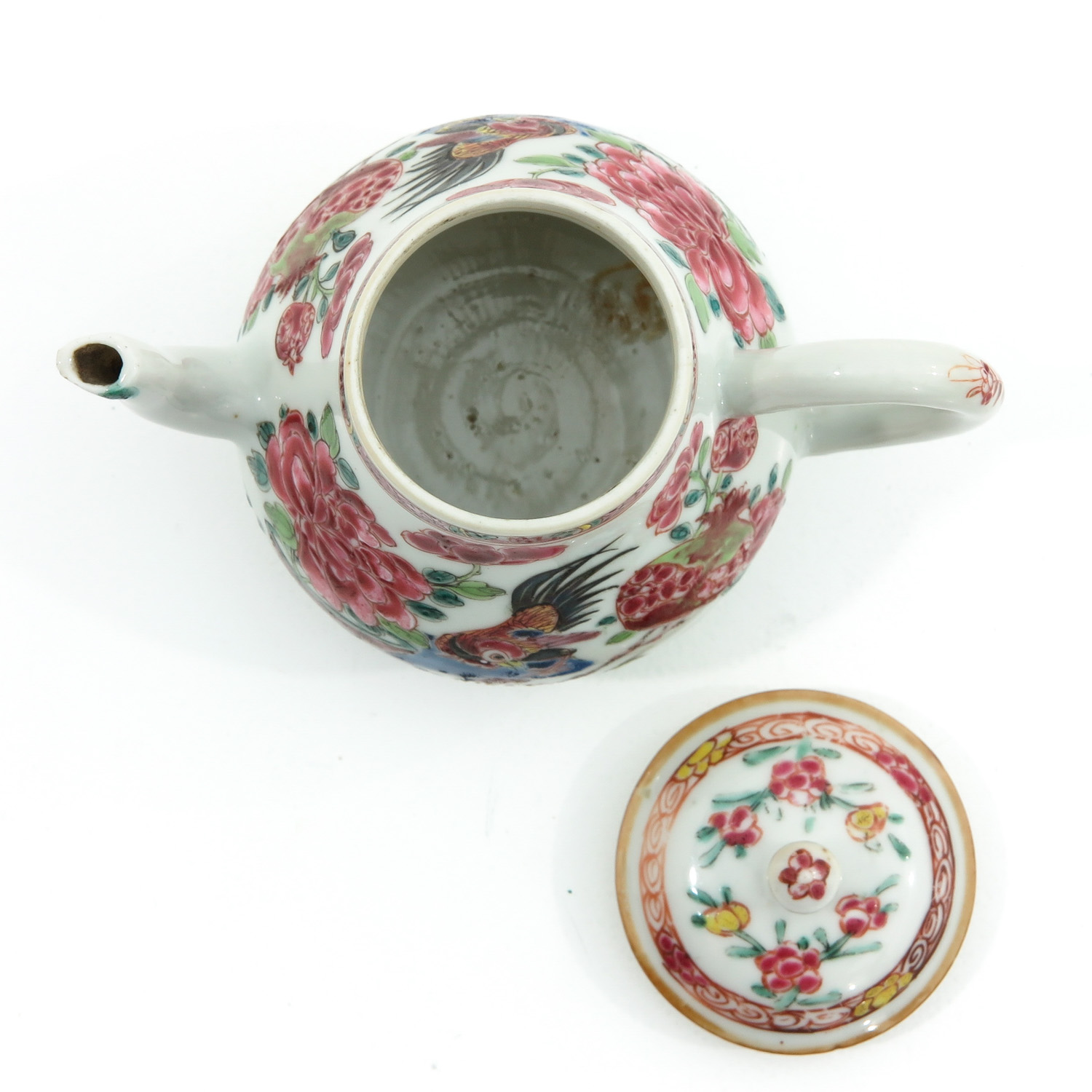 A Famille Rose Teapot - Image 5 of 9