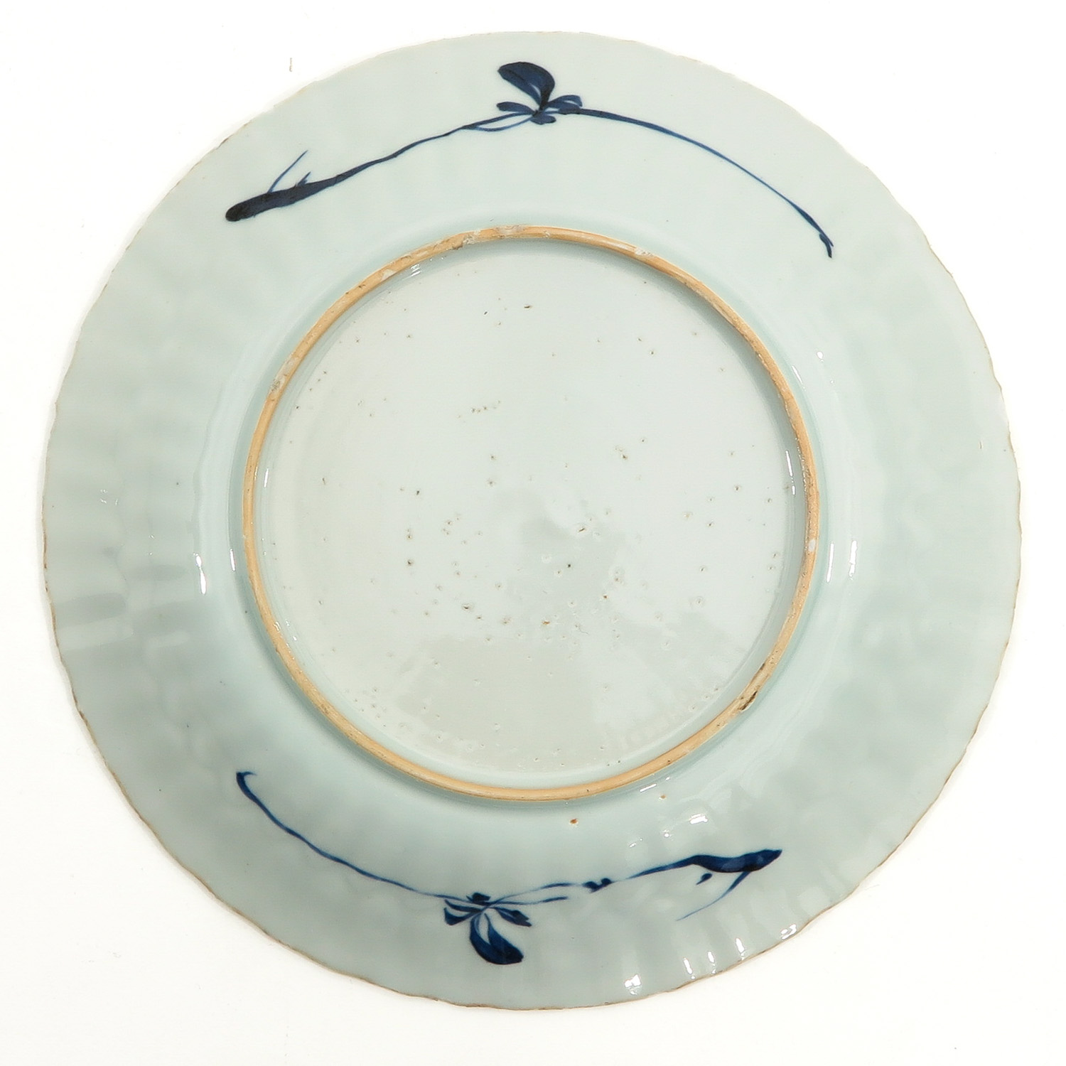 A Lot of 2 Blue and White Plates - Image 4 of 10
