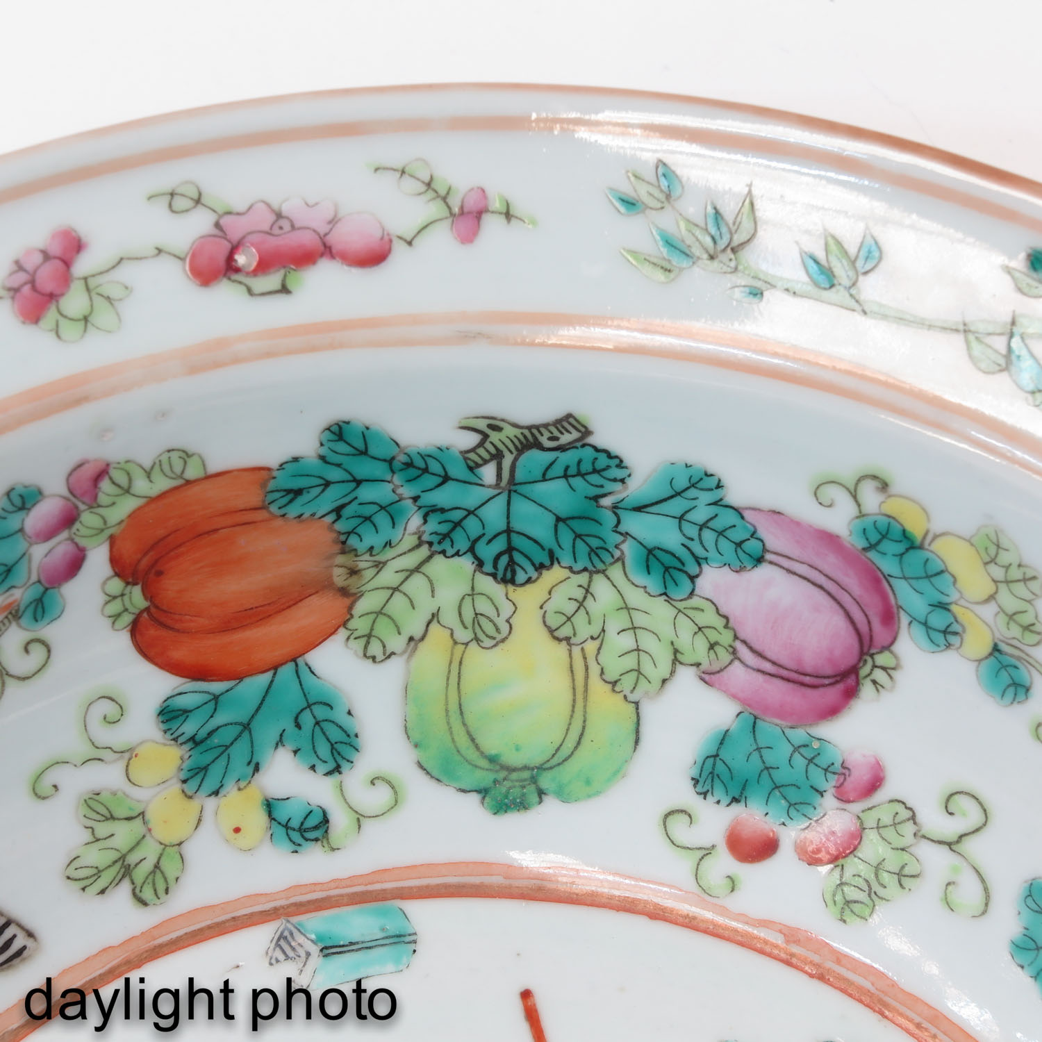A Famille Rose Bowl - Image 10 of 10