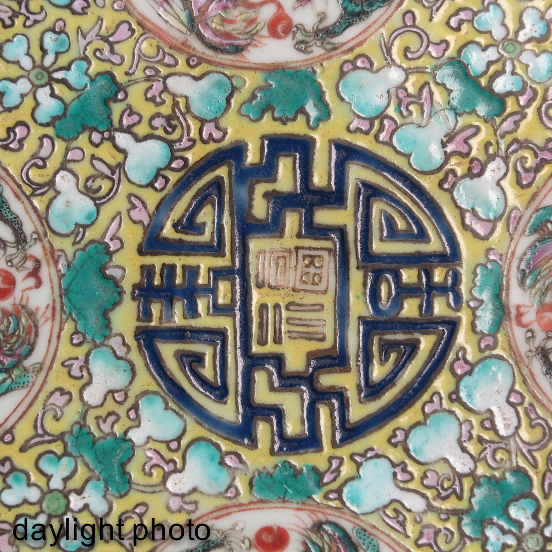 A Polychrome Decor Plate - Image 5 of 5