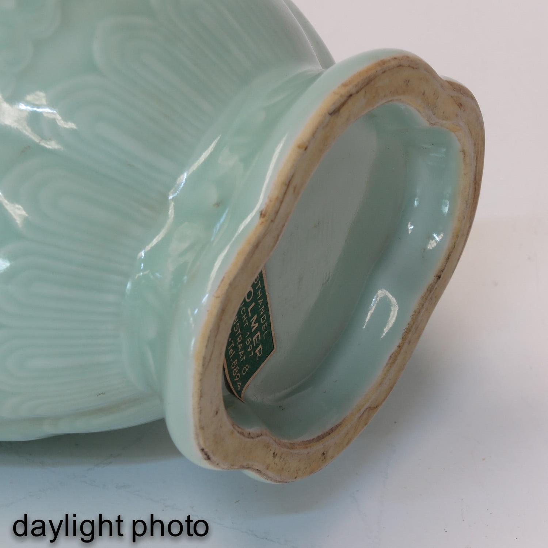 A Celadon Vase - Image 8 of 9