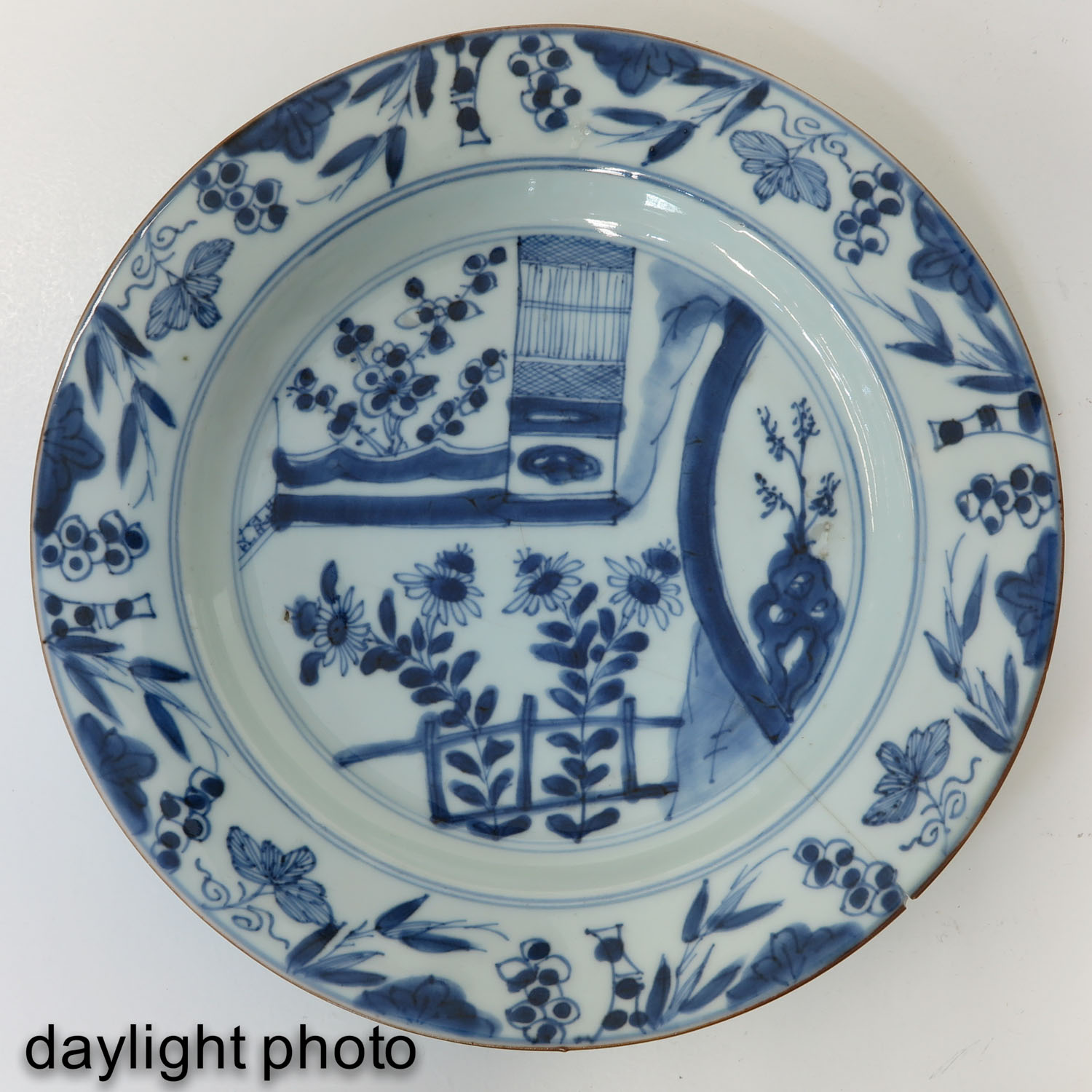 A Series of 6 Blue and White Plates - Image 9 of 10