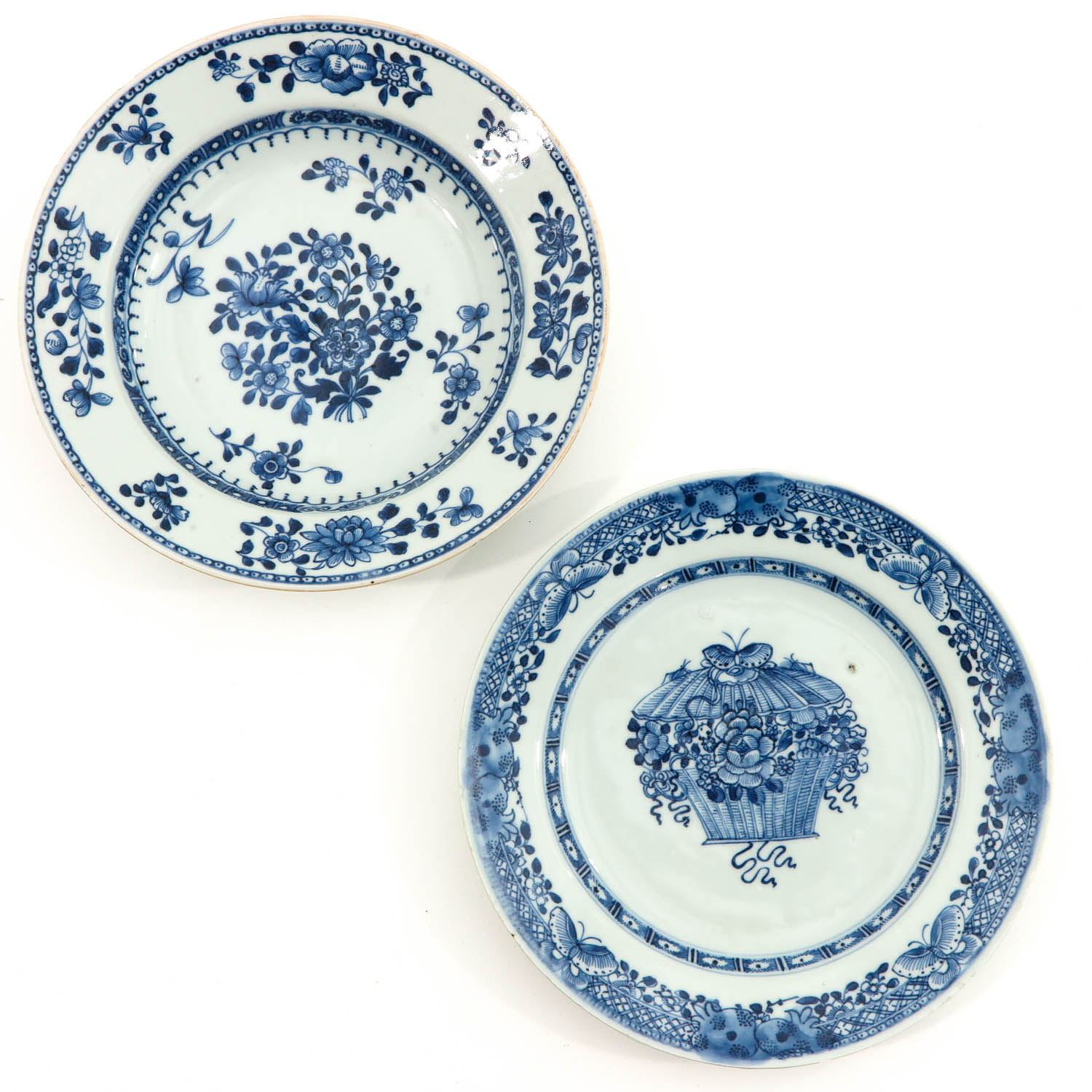A Collection of 6 Blue and White Plates - Image 5 of 10