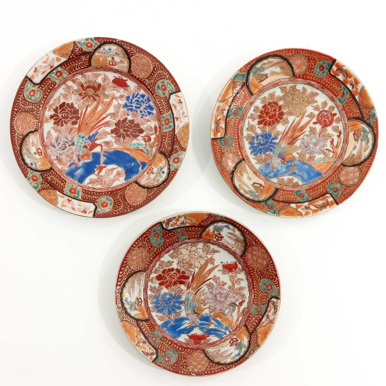 A Series of 8 Kutani Plates - Image 3 of 10