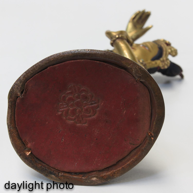A Bronze Quanyin Sculputre - Image 9 of 10