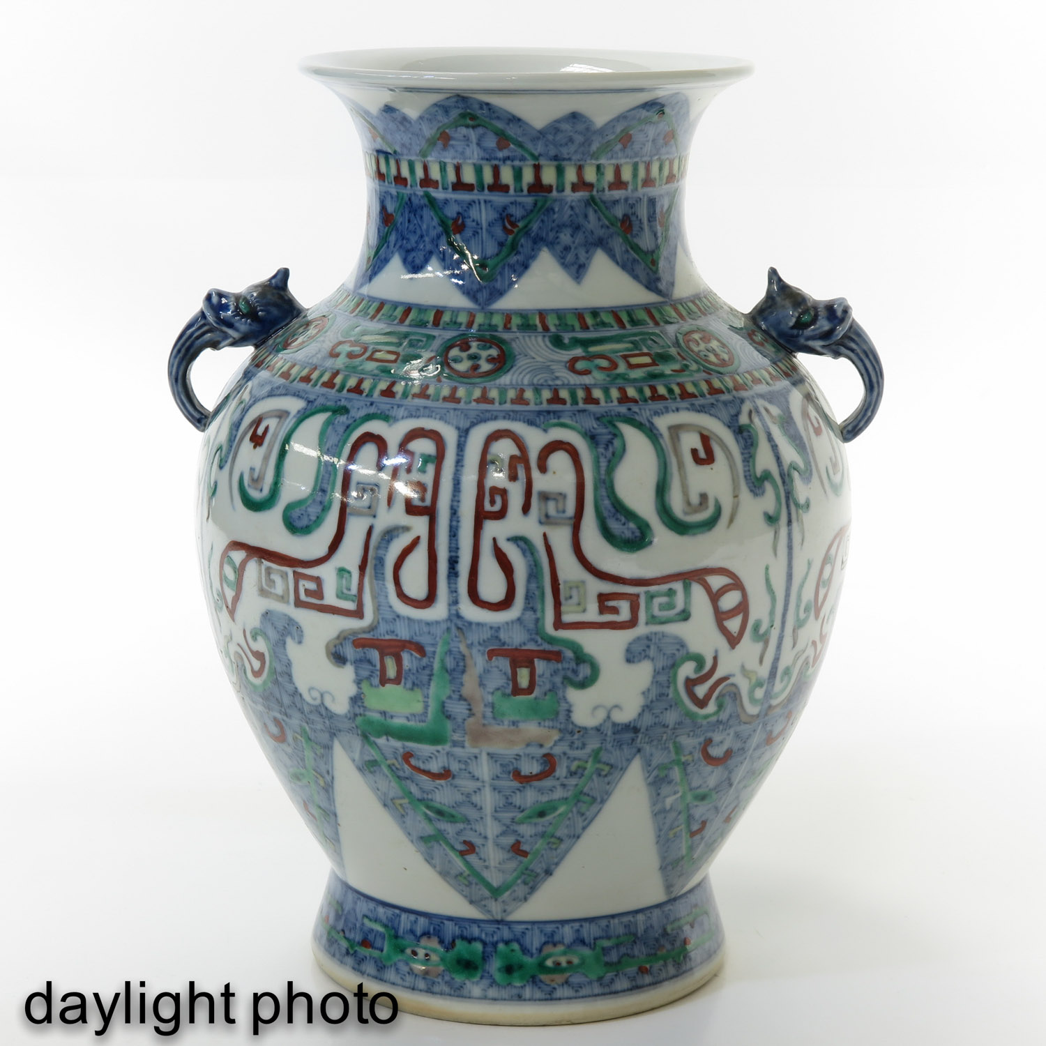 A Doucai Decor Vase - Image 7 of 10