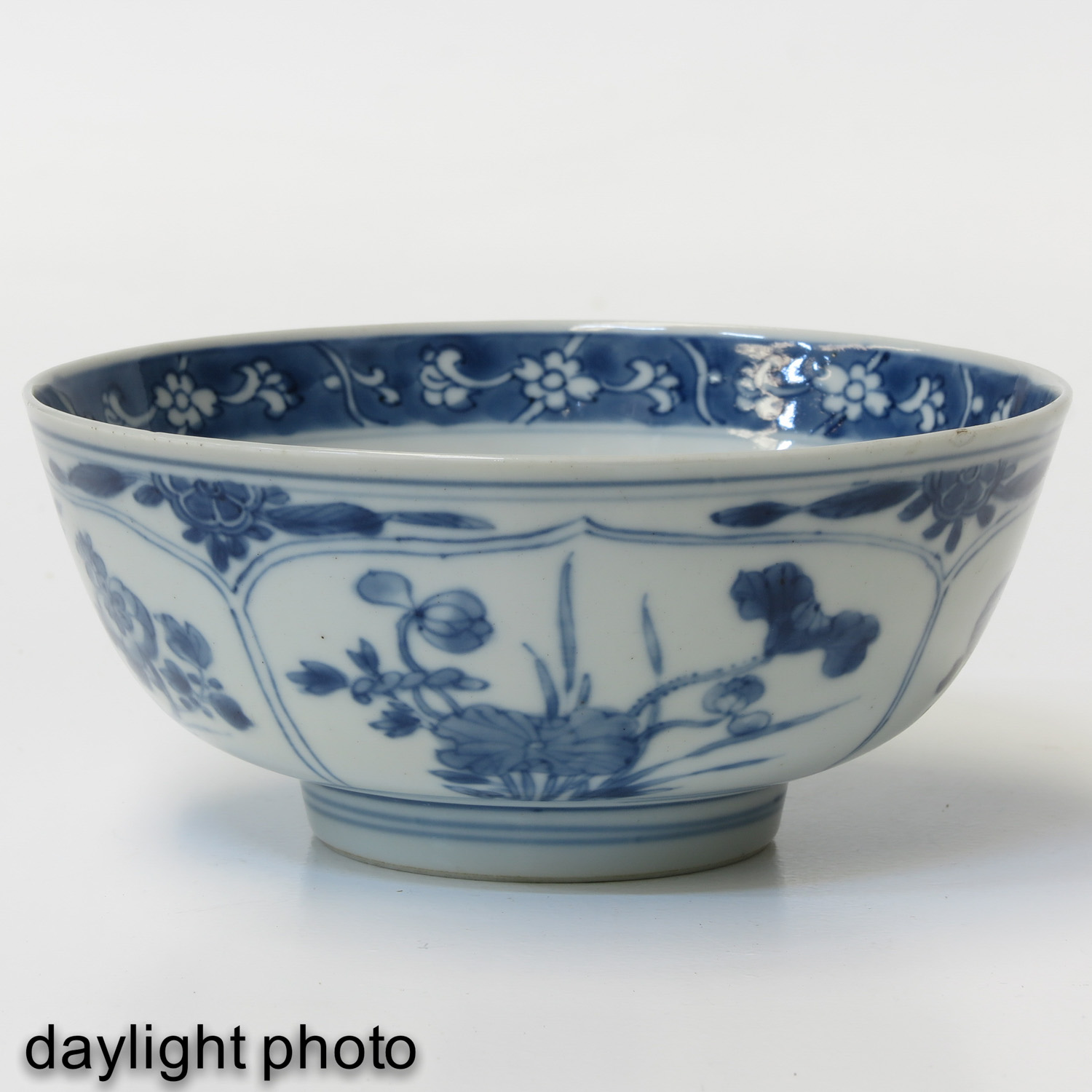 A Blue and White Bowl - Image 7 of 9