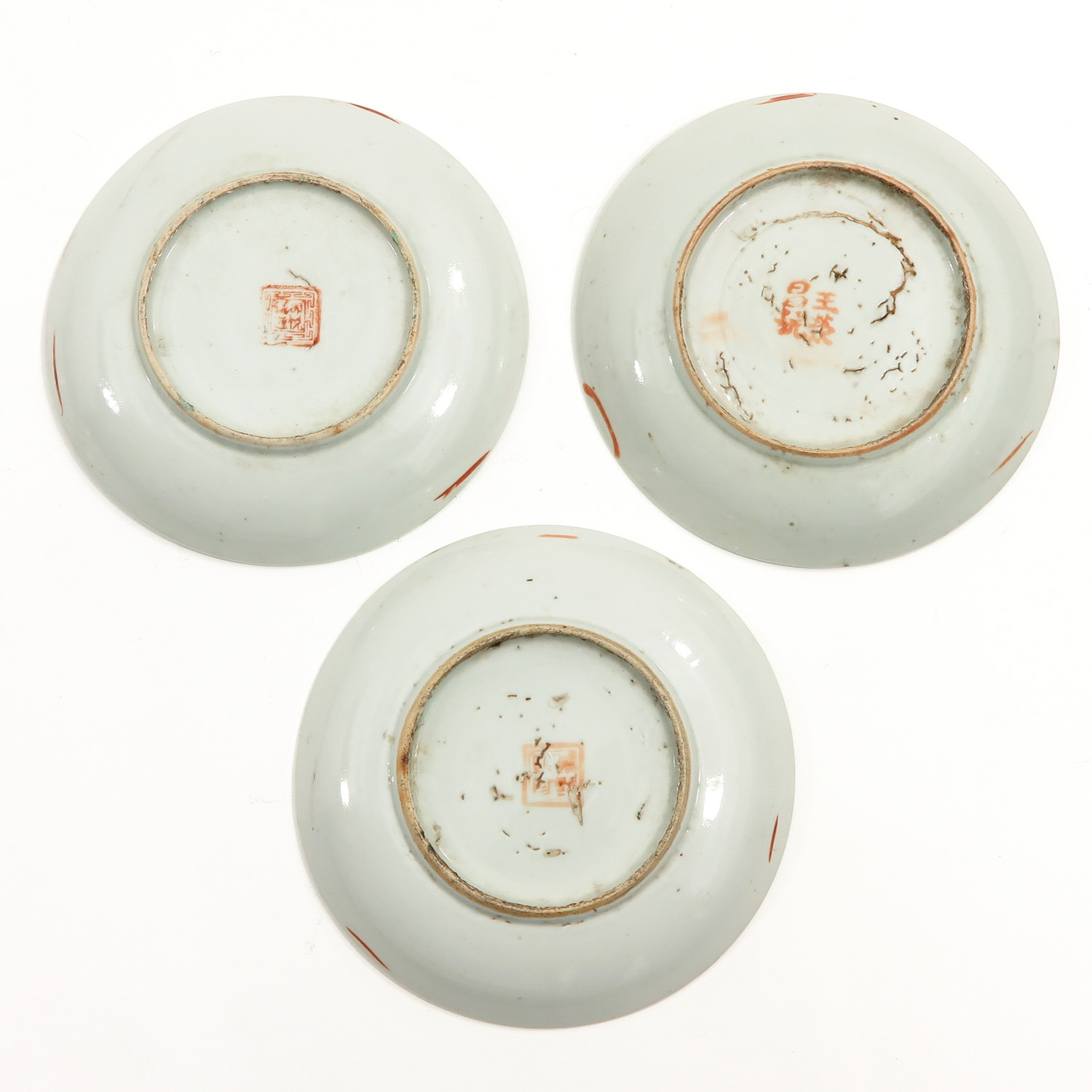 A Collection of 10 Polychrome Decor Plates - Image 8 of 10