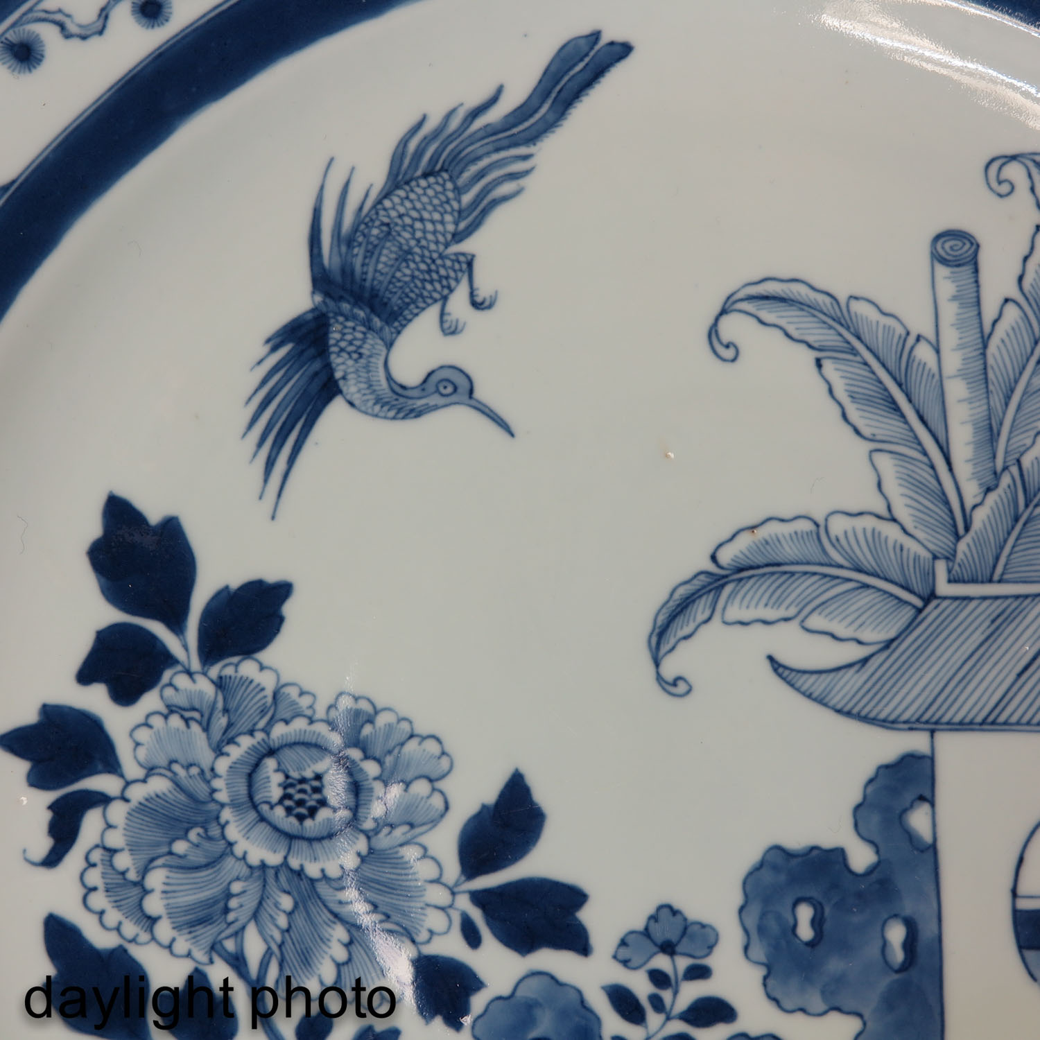 A Blue and White Charger - Image 7 of 7